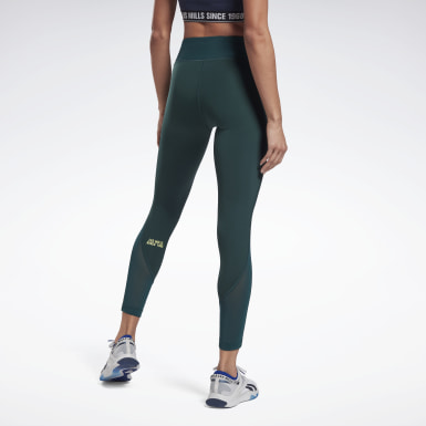 Leggings Les Mills® Lux Perform Verde Donna Studio