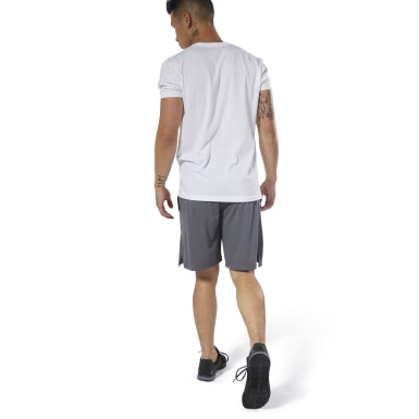 Men Fitness & Training Grey Training Knit Shorts