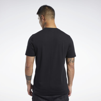 Men Fitness & Training Black UFC FG Capsule Tee