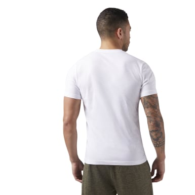Men Fitness & Training White QQR- Reebok Stacked
