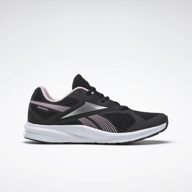 Women Running Black Reebok Endless Road 2.0 Shoes