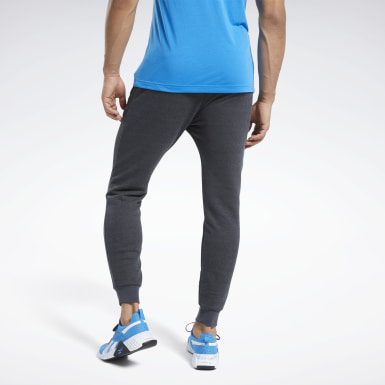 Heren Fitness & Training Zwart Training Essentials Gemêleerde Broek