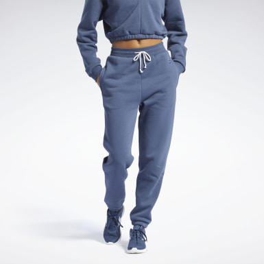 Pantaloni Studio Restorative Fleece Blu Donna Studio