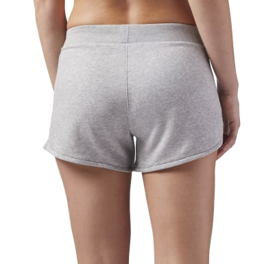 Shorts Training Essentials Simple Gris Mujer Fitness & Training