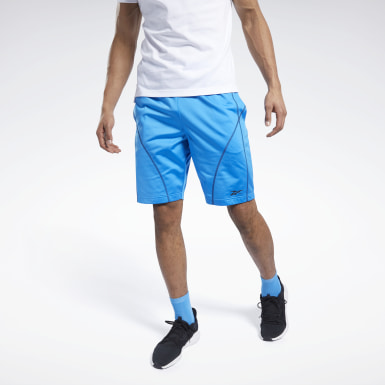 Männer Fitness & Training MYT Shorts Blau