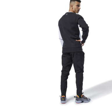 Men Training Black One Series Training Colorblock Pants