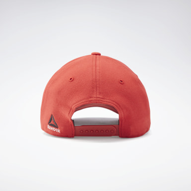 Combat Red UFC Logo Baseball Hat