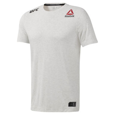 Camiseta UFC FIGHT NIGHT WALKOUT Blanco Hombre Fitness & Training