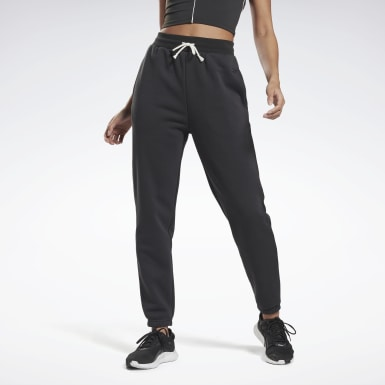 Women Studio Black Studio Restorative Fleece Pants