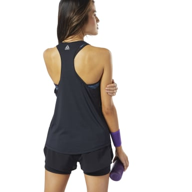 Women Running Black One Series Running ACTIVCHILL Tank Top