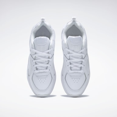 Kids Classics White Reebok XT Sprinter Shoes