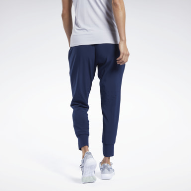 Women Training Blue United By Fitness Track Pants
