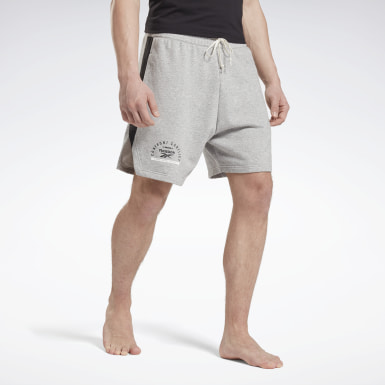 Men Fitness & Training Grey Combat Boxing Shorts