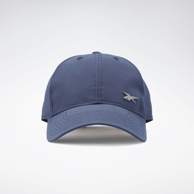 Cappellino Active Foundation Badge Blu Running