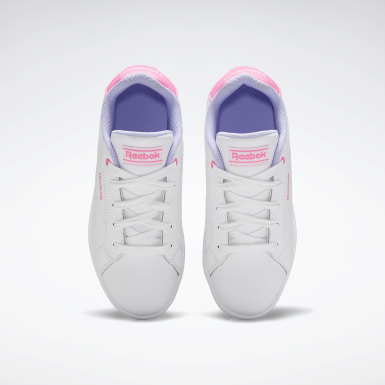Kids Classics White Reebok Royal Complete CLN 2 Shoes