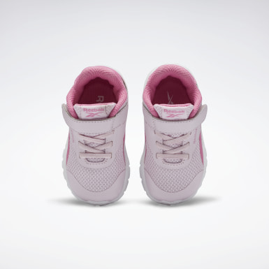 Girls Running Pink Reebok Rush Runner 2.0 Shoes