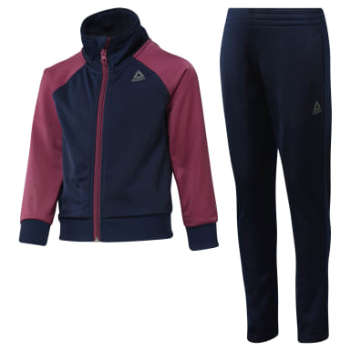 Girls Training Blue Girls Workout Ready Tricot Tracksuit