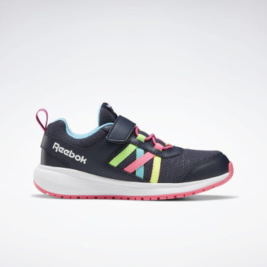 Kids Running Blue Reebok Road Supreme Shoes