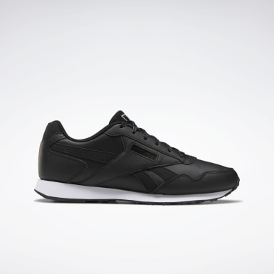 Women Classics Black Reebok Royal Glide LX Shoes