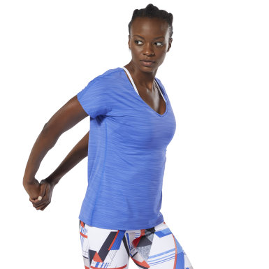 Women Training Blue ACTIVCHILL Tee