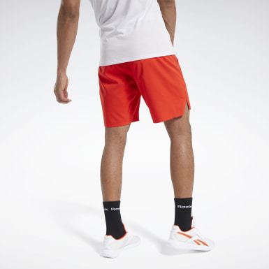 Men Training Red Epic Lightweight Shorts