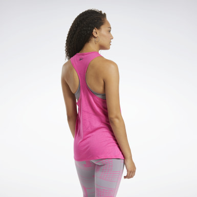 Women Fitness & Training Burnout Tank Top