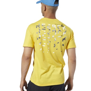 Men Training Yellow One Series Training Speedwick Tee