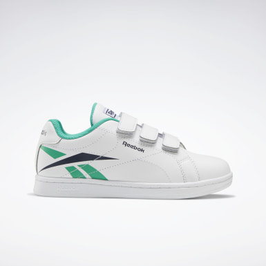 Boys Classics White Reebok Royal Complete CLN 2 Shoes