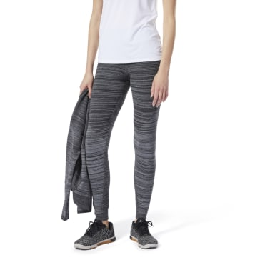 Dames Fitness & Training Grijs Knit Fitted Broek