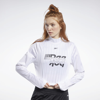 Dam Dans Vit Meet You There Crop Top
