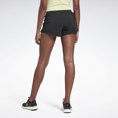Women Running Black Run Essentials 3-Inch Shorts