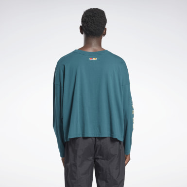 Classics Green Reebok by Pyer Moss Long Sleeve T-Shirt