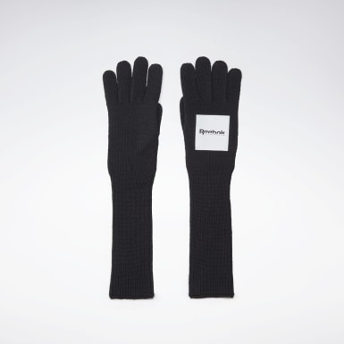 Women Classics Black VB Gloves