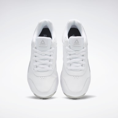 Men Casual White Reebok Work N Cushion 3 4E Men's Shoes
