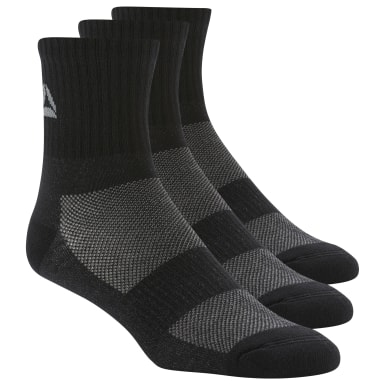 Active Foundation Mid-Crew Socks Three Pack