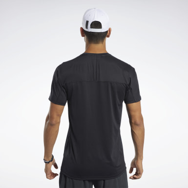Men Cross Training Black ACTIVCHILL Move Tee