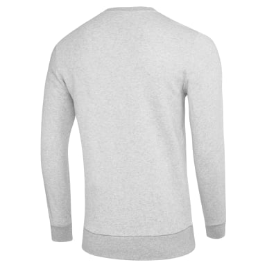Men Fitness & Training Grey Crew Fleece Men