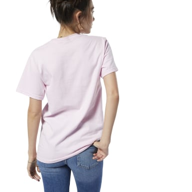 Classics Pink Reebok Nailed It Tee