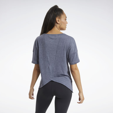 Women Hiking Blue ACTIVCHILL+COTTON Tee