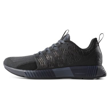 Men Running Black Reebok Fusion Flexweave® Cage Men's Shoes