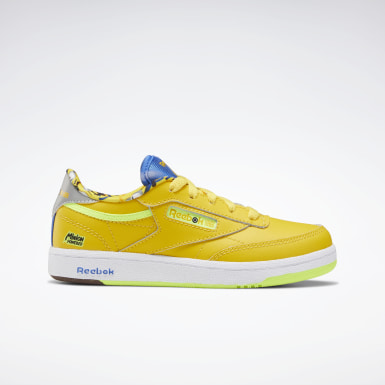 Girls Classics Yellow Club C 85 Shoes - Preschool