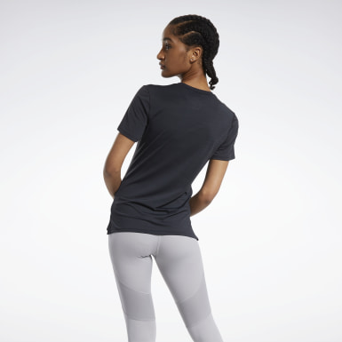Women Fitness & Training Black ACTIVCHILL Athletic Tee