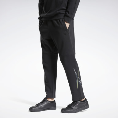 Men Classics Black Classics Knit Pants