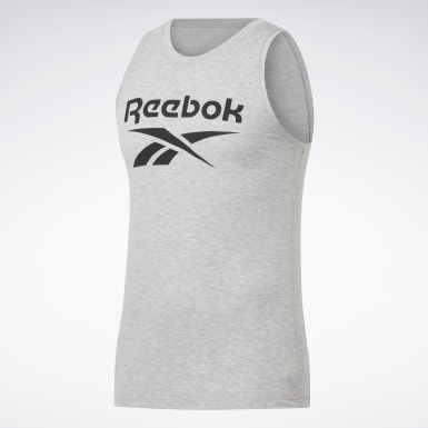 Men Cross Training Grey WOR SUP BL TANK