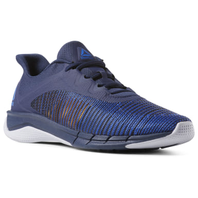 Men Running Blue Fast Tempo Flexweave® Men's Running Shoes