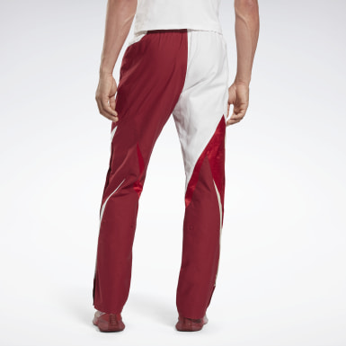 Men Fitness & Training Red Reebok x Cottweiler Hybrid Pants