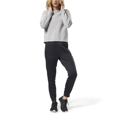 Women Training Black Thermowarm Deltapeak Pant