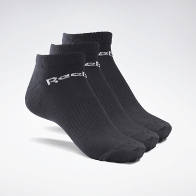 Fitness & Training Active Core Low-Cut Socks – 3er-Pack Schwarz