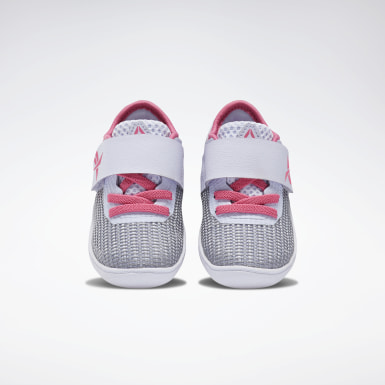 Girls Training Grey Reebok Nano 9 Shoes - Toddler