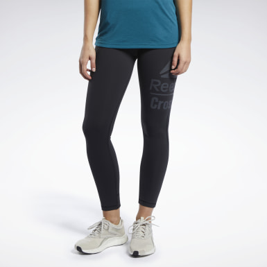 Dames Crosstraining Zwart Reebok CrossFit® Lux 7/8 Legging